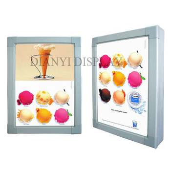 High Brightness Aluminum frame advertising light box