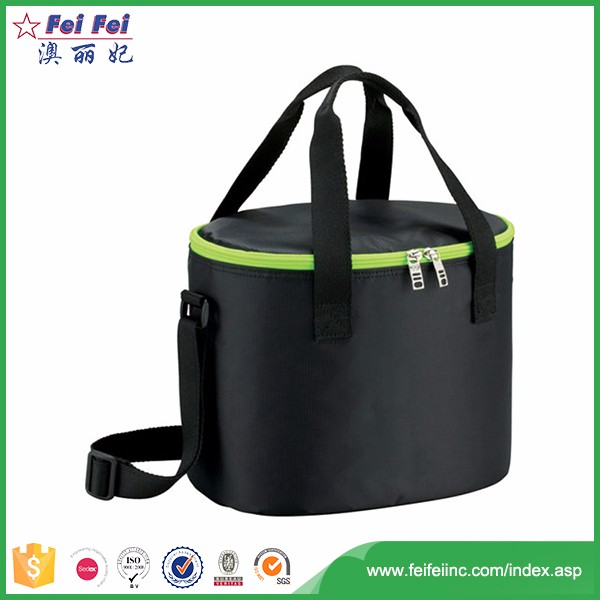 China alibaba portable eco-friendly black lunch bag for men