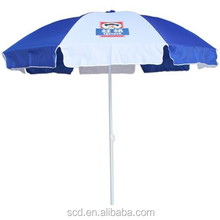 Hot sale Beach umbrella parasol Promotional Advertising parasol with water base
