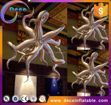 Oxford cloth decorative led inflatable hang star models for wedding/club events