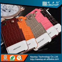New product crocodile weave mobile phone leather case for iphone 4 4S 4G