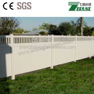 security privacy fences cheap vinyl plastic garden fence