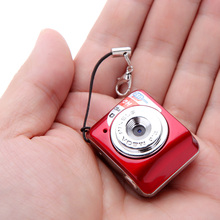 X3 Portable Ultra Mini Digital Camera HD High Denifition DV Support 32GB TF Card with Mic D2300