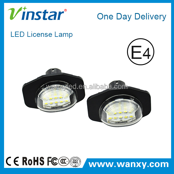 Be opened in night with super brightness auto spare parts led license plate lamp for Toyota Alphard GGH20 2008
