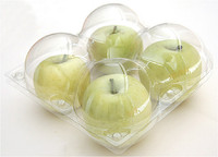 custom clear plastic fruit packaging tray