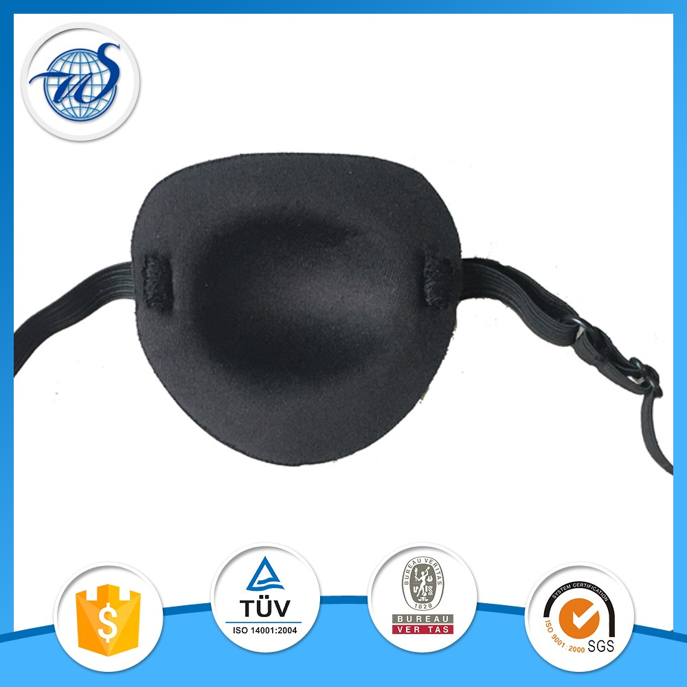 polyester 3d pirate travel eye patch