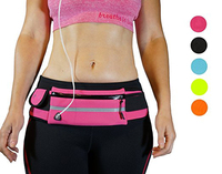 Most comfortable neoprene Water Resistant Adjustable elastic running Belt Waist Pack for Hiking Traveling