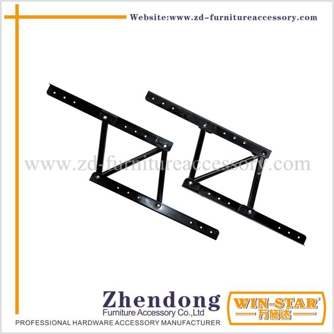 ZD-I006 Generic Black Color Metal Lift Up Table Mechanism For Tea Table
