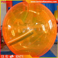 Fast Shipping Orange Inflatable Water Ball Price Inflatable Water Walking Ball