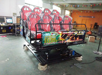 truck mobile 5d cinema with highly quality for shopping mall center project