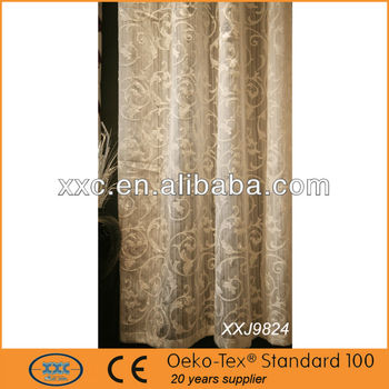 luxury hotel curtains of laser