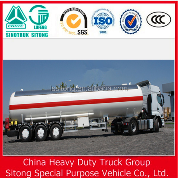 3 Axle Widely Used Fuel Tanker Truck/semi Trailer Made In China For Sale