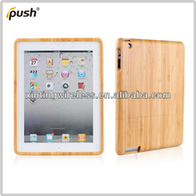environmental hard bamboo cover for ipad2/ipad3/ipad 4