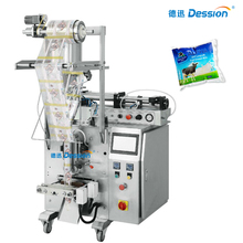 Automatic liquid milk pouch filling packing machine
