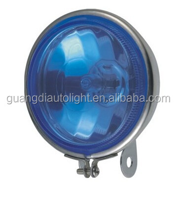 metal housing fog lamp blue