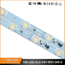 CE/ Rohs certificate listed edge light led strip 3535 led bead chip