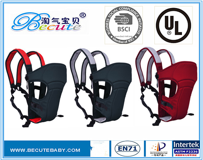 Professional baby carrier factory,adjustable cotton cushion backpack baby carrier