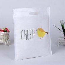 wholesale customized non-woven flat bag