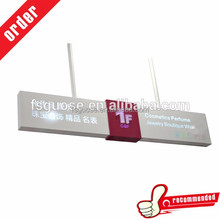 foshan led light box Hanging signboard A large supermarket large parking lot