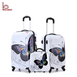 Trolley ABS PC Suitcase Set Travel Luggage Bags Set