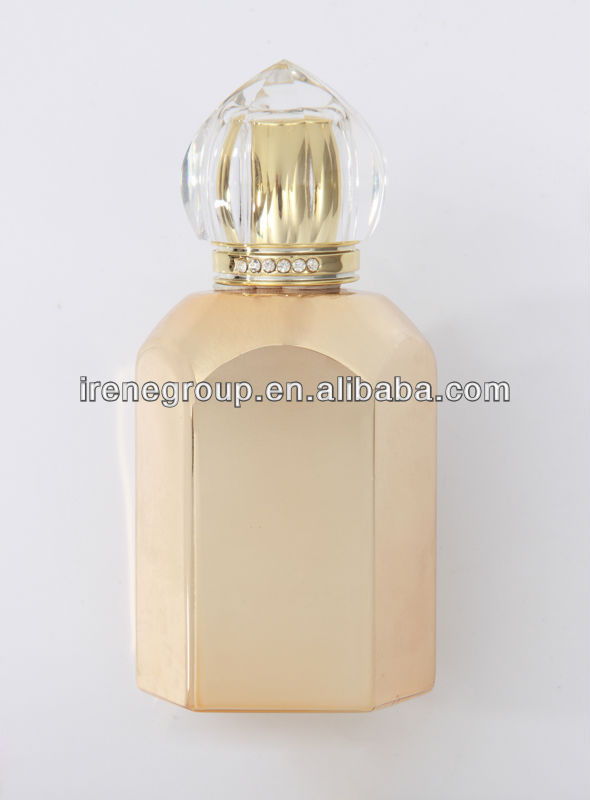 perfume bottles luxury gold electroplate