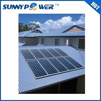 New 2kw solar panel kit made in china battery solar panel / 2kw home solar system