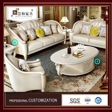 China Manufacturer Semi Circle Leather Sofa