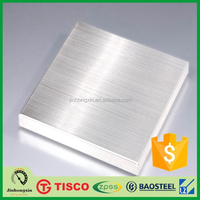 Hairline brushed finish 316l elevator decoration stainless steel sheets