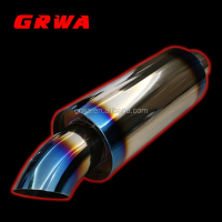 Performance racing exhaust muffler for JS
