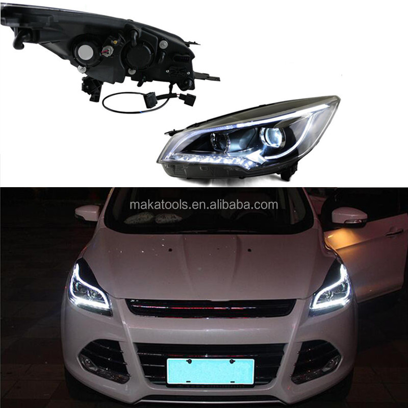 For Ford Kuga 2013-2015 Headlight Assembly Angle White Lighting HID