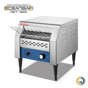 HET-300 commercial electric belt conveyor bread toaster