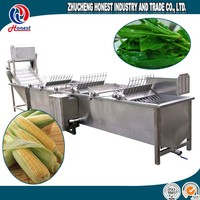 Fruit Air Bubble Washing Machine For Sale, Potato Washing And Grading Machine, Automatic Air Bubble Washer Machine For Food