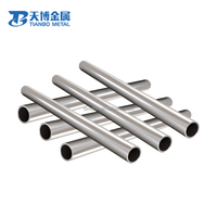 sia y david guetta ASTM B338 Gr2 seamless titanium tube for heat exchanger