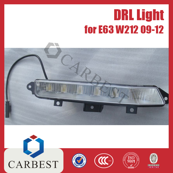 High Quality DRL Daytime Running Light for Mercedes Benz W212 E63 2009-2012