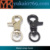 Yukai zinc alloy carabiner snap hook metal swivel bag snap hook