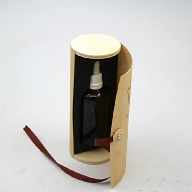 Handmade Wood CraftS Birch Bark Wood Soft Warm Heart Gift Box With Logo