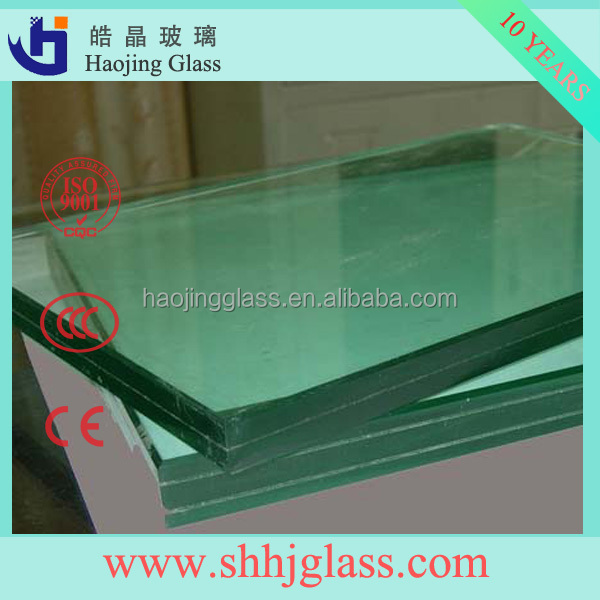 Shahe Haojing High Quality triple glazed glass panel tempered laminated glass