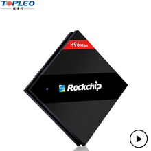 New technology hot sale H96 Max RK3399 Six Core 2.0G 4G+32G android world tv box