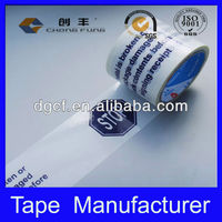2016 China Logo Printed Custom Tape and all kinds of Tape