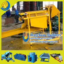 China Supplier Shandong Hengchuan High Quality Mini Mobile Gold Trommel <strong>Screen</strong> for Gold Panning