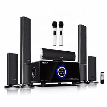 Best selling  012 W6 theater  Model 5.1 Home theatre sound System