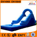 Amazing practical outdoor playing fun inflatable slide with pool