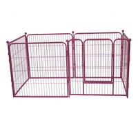 Dog exercise play pen pet playpen / Lowes expandable used portable indoor folding dog kennels and run fence panels for sale