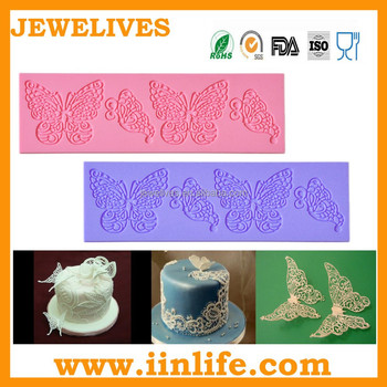 cake lace mold,custom icing lace for cake decorating