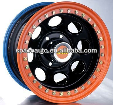 Newest design style steel wheels 5x112 for SUV