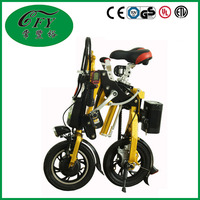 Li-battery 14 Inches M Folding Golden Electronic Bike