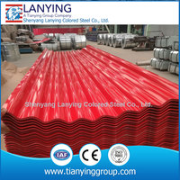 China supplied corrugated cheap metal roofing sheet 762-1250, 665-1090 waved