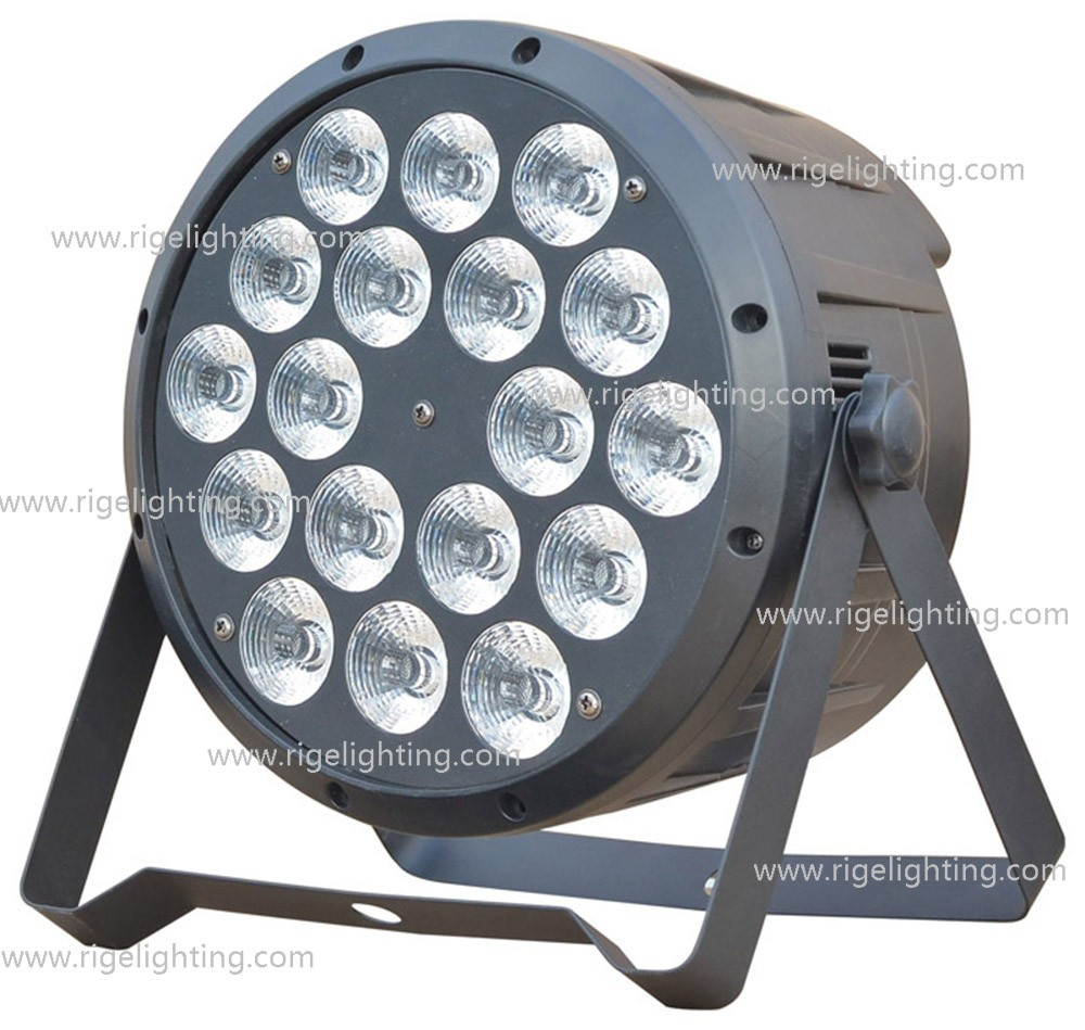 hot selling Par 64/ 18*10W RGBW 4IN1 LED Par Can high power led stage light