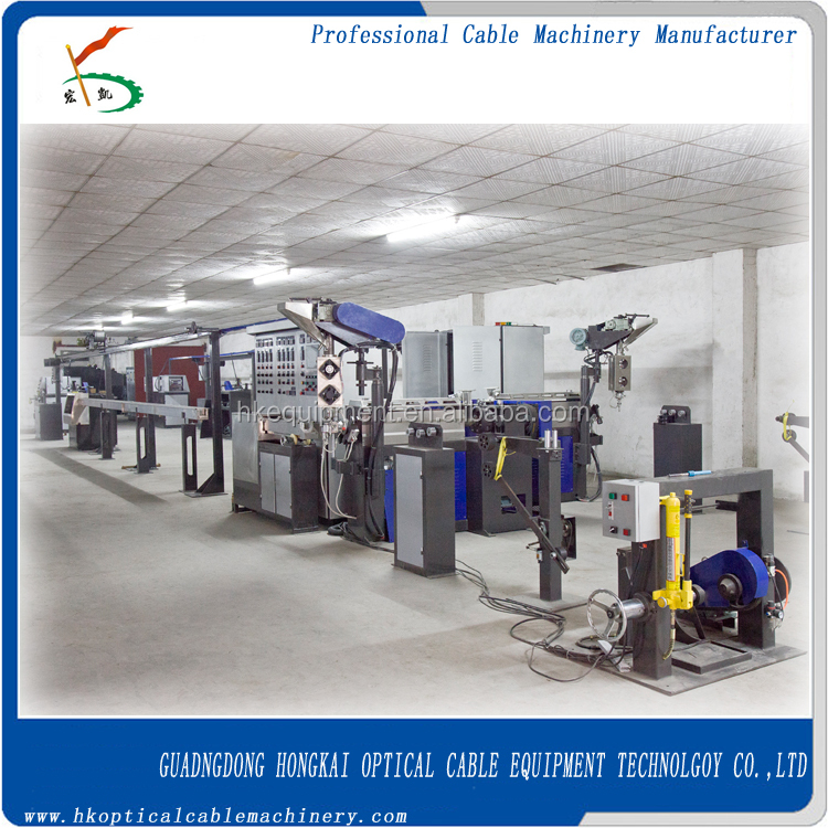 Electric Wire Cable Making Machine / Manufacturing Plant - Wire Insulation Machine
