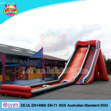 Inflatable commercial floating water slides ,water sled slide giant inflatable